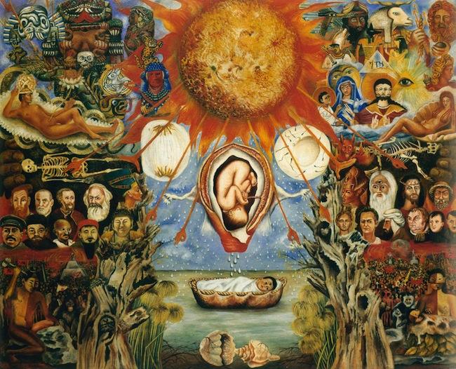 Frida Kahlo - Moses o Nucleo Solare