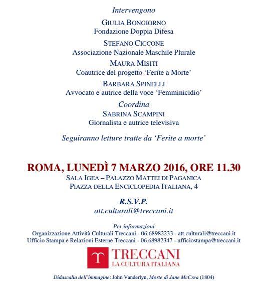7 marzo roma 2