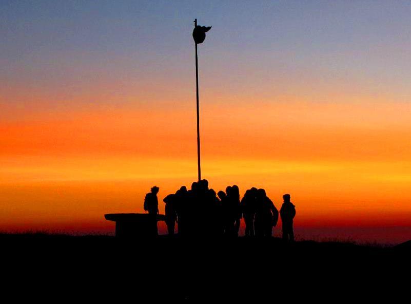 corno tramonto
